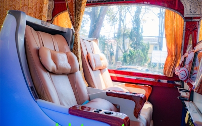 Ho Chi Minh City to Dalat VIP Private Cabin Sleeper Coach